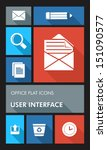 office elements mobile ui...