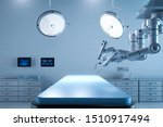 3d Rendering Surgery Room With...