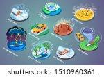 meteorological disaster or...   Shutterstock .eps vector #1510960361
