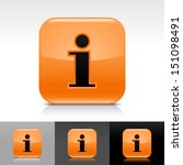 information icon orange color...