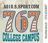 college campus   vector college ...