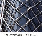 steel grid frame of london... | Shutterstock . vector #1511136