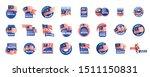 malaysia flag  vector... | Shutterstock .eps vector #1511150831