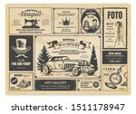 Vintage Newspaper Advertising....