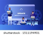 system update illustration...