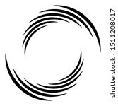 abstract concentric circle.... | Shutterstock .eps vector #1511208017