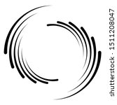 abstract concentric circle.... | Shutterstock .eps vector #1511208047