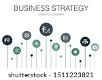 business strategy infographic...