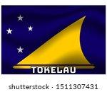 national flag of  oceanian...   Shutterstock .eps vector #1511307431