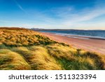 Windswept Sand Dunes At Big...