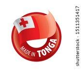 tonga flag  vector illustration ...   Shutterstock .eps vector #1511351417