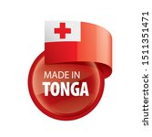 tonga flag  vector illustration ...   Shutterstock .eps vector #1511351471