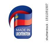 liechtenstein flag  vector...   Shutterstock .eps vector #1511351507