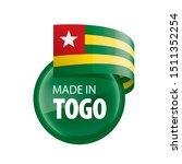 togo flag  vector illustration...   Shutterstock .eps vector #1511352254