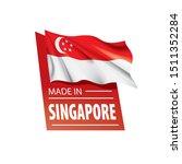 singapore flag  vector...   Shutterstock .eps vector #1511352284