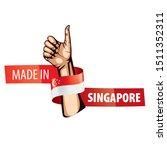 singapore flag  vector...   Shutterstock .eps vector #1511352311