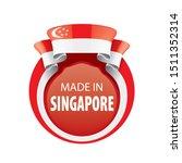 singapore flag  vector...   Shutterstock .eps vector #1511352314