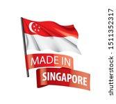 singapore flag  vector...   Shutterstock .eps vector #1511352317