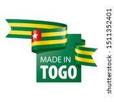 togo flag  vector illustration...   Shutterstock .eps vector #1511352401
