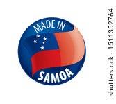 samoa flag  vector illustration ...   Shutterstock .eps vector #1511352764