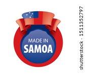 samoa flag  vector illustration ...   Shutterstock .eps vector #1511352797