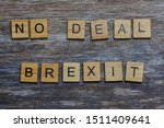 words  no deal brexit laid with ...