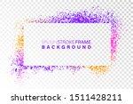 hand drawn grunge frame... | Shutterstock .eps vector #1511428211