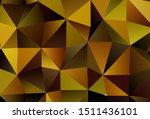 dark green  yellow vector... | Shutterstock .eps vector #1511436101