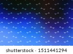 light blue  green vector... | Shutterstock .eps vector #1511441294