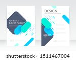 vector abstract design  cover... | Shutterstock .eps vector #1511467004