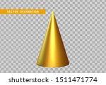 sharp geometric cone cast... | Shutterstock .eps vector #1511471774