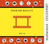 camera roll  photographic film  ... | Shutterstock .eps vector #1511519087
