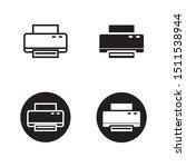 printer vector illustration...