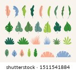 vector collection of simple... | Shutterstock .eps vector #1511541884