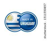 uruguay flag  vector...   Shutterstock .eps vector #1511550857