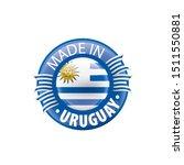 uruguay flag  vector...   Shutterstock .eps vector #1511550881