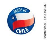 chile flag  vector illustration ...   Shutterstock .eps vector #1511551037