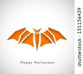 happy halloween poster  banner... | Shutterstock .eps vector #151156439
