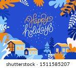 vector illustration in trendy... | Shutterstock .eps vector #1511585207