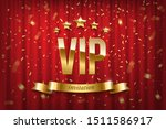 vip event invitation realistic... | Shutterstock .eps vector #1511586917
