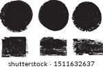 grunge post stamps collection ... | Shutterstock .eps vector #1511632637
