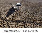 Boat Stranded In The Desert ...