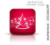 christmas tree and stars. app...