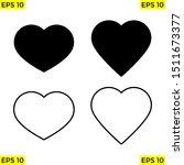heart icon  heart button...