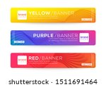abstract web banner or header... | Shutterstock .eps vector #1511691464