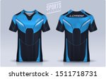 t shirt sport design template ... | Shutterstock .eps vector #1511718731