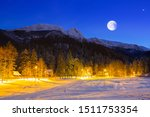 Giewont In Tatra Mountains At...