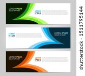 business vector abstract banner ... | Shutterstock .eps vector #1511795144