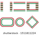 flags of hungary with copy space | Shutterstock .eps vector #1511811224