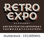 a unique art deco movement... | Shutterstock .eps vector #1511850641